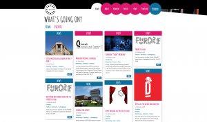 EUTSA Webportal - Screenshot News