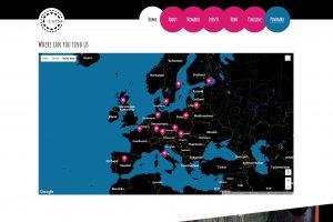 EUTSA Webportal - Screenshot Locations