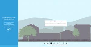 Netgear Website zum Orbi-System - Screenshot interaktiver Fragenkatalog