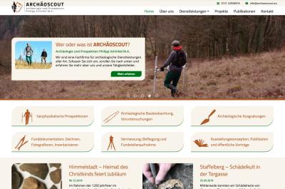 Archäoscout Website