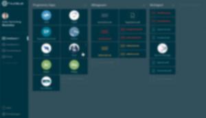 Interaktives Dashboard für Daimler - Beispielbild