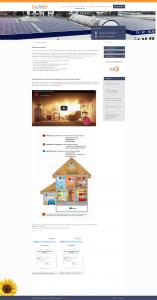 eco.Tech Website - Screenshot Content