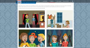 Knappschaft Hackedicht Scrollytelling - Sreenshot Website interaktive Geschichten