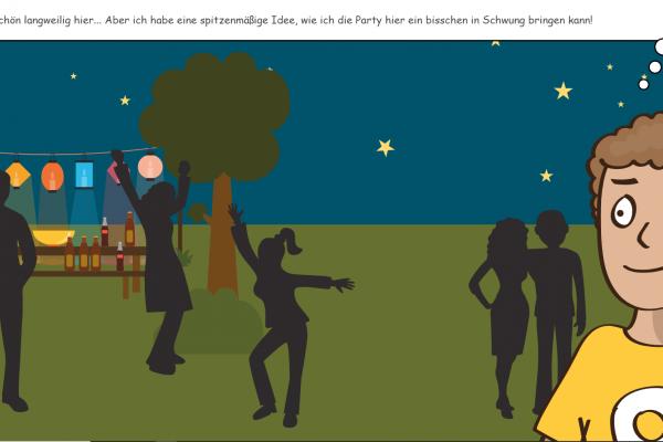 Knappschaft Hackedicht Scrollytelling - Sreenshot Website interaktive Geschichte Story