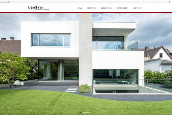 Website Bau|Frei