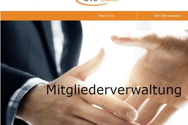 Vereinsverwaltungssoftware für den BVO
