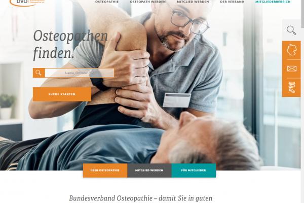 Website des BVO erstrahlt in neuem Gewand