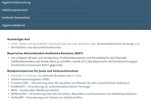 Website HygConcept - Screenshot Inhaltsseite responsive