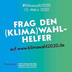 München muss Handeln - Screenshot (Klima)Wahlhelfer-Tool