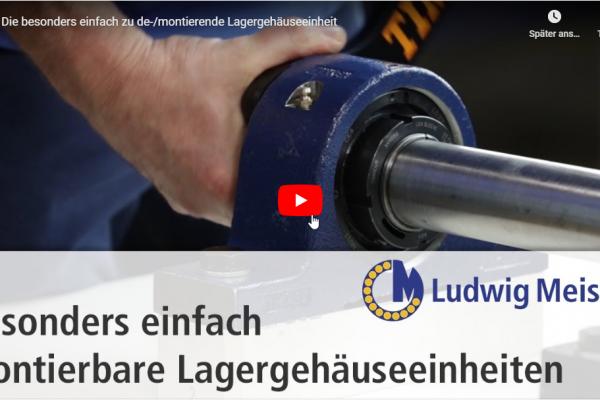Premiere des ersten von MMC produzierten V-Logs für Ludwig Meister
