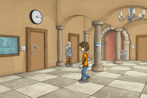Adventure Game Screenshot Story