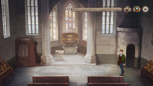 Adventure Game Martin Luther - Screenshot Story