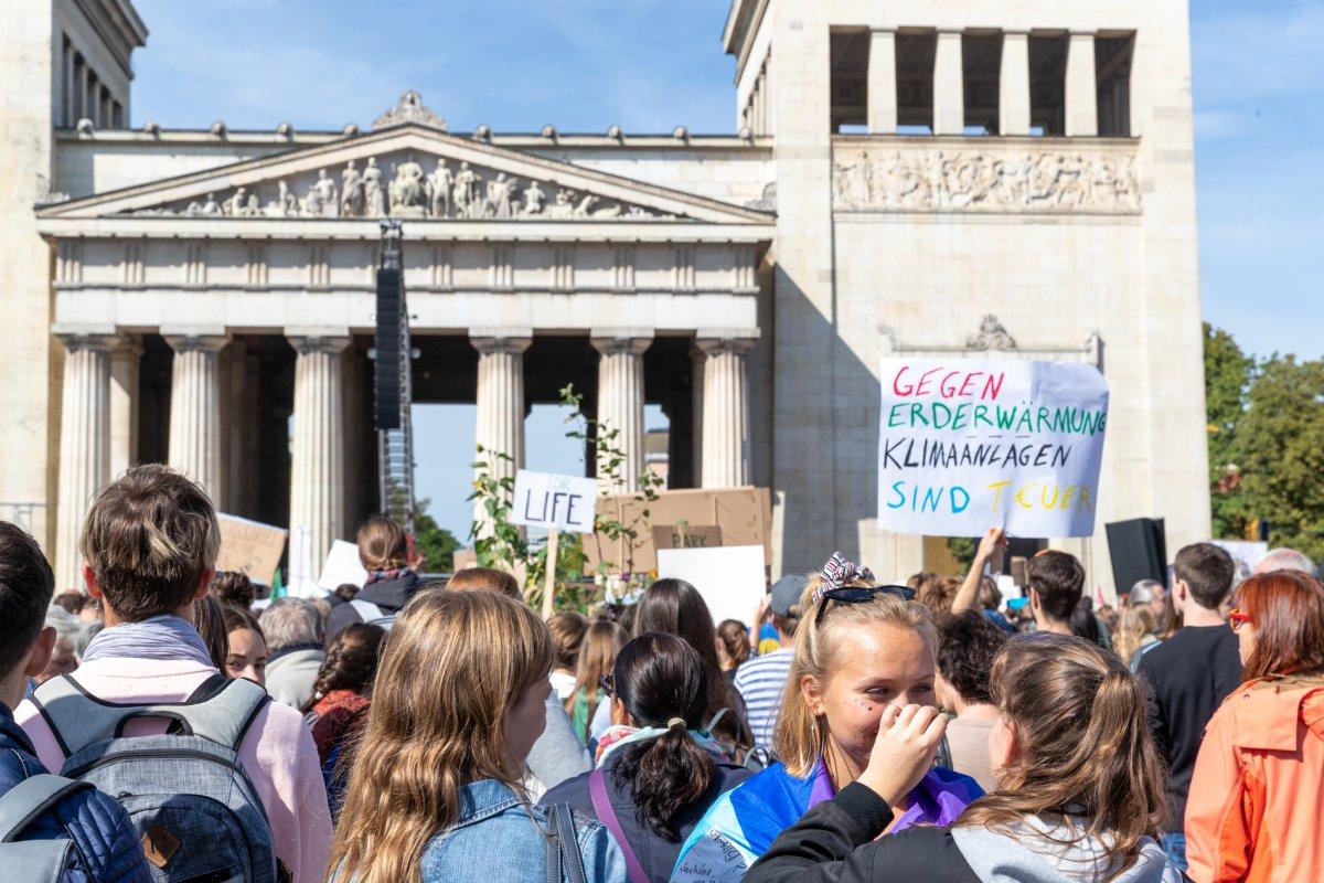 Foto Demonstration München muss handeln