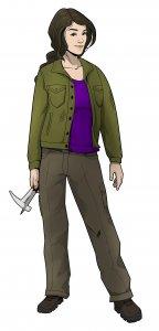 Adventure Game Martin Luther - Spielfigur Protagonist