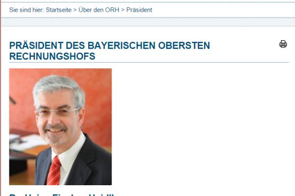 Website ORH - Screenshot Inhalt responsive