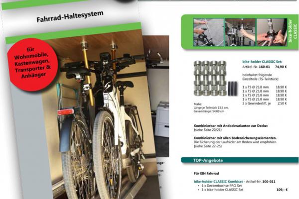 Abschluß Digitalisierungsprojekt Bike Holder