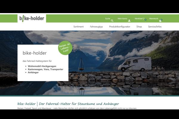 Bike Holder – Webshop, WaWi und Produktionsverwaltung