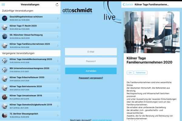 App für Otto Schmidt